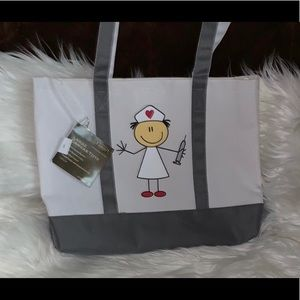 Medical Canvas tote w insert
